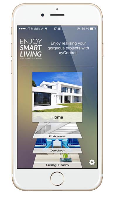 Mobile remote app
